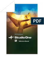 Studio One Reference Manual