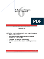 11.1 SUBCONSULTAS - LENGUAJE ESTRUCTURADO DE CONSULTA [SQL EN ORACLE]]