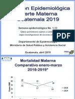 Sala Situacional 2019