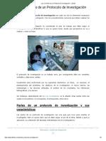Las 12 Partes de un Protocolo de Investigación - Lifeder