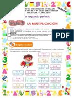 matematicas la multiplicacion grado 4