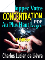 Developpez Votre Concentration - Charles Lucien de Lievre