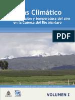 Atlas Climático de precipitación y temperatura del aire en la Cuenca del Río Mantaro