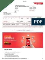 ACT Invoice