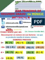 8 Factoriz de un Trinomio NO Mónico WEB.pptx