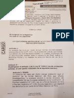 Proyecto de ley que deroga artículos de la ley 31012