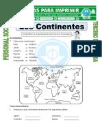 Ficha-Nombre-de-los-Continentes-para-Tercero-de-Primaria