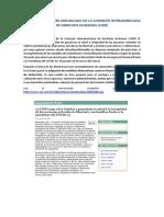 COMENTARIO SOBRE COMUNICADO DE LA COMISIÓN INTERAMERICANA DE DERECHOS HUMANOS (CIDH) - SOPHIA ICAZA