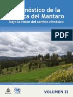 Diagnostico de la Cuenca del Mantaro bajo la visión del cambio climático