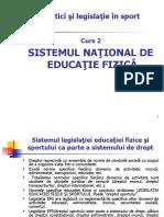 Legea Ed Fizice si Sportului 13 03 2020