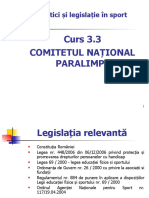 3 3  Comitetul Naţional Paralimpic 20 03 2020