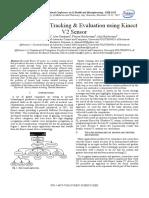 Human motion tracking & evaluation using Kinect V2 sensor