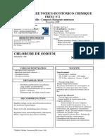 CHLORURE DE SODIUM  FICHE RESUMEE TOXICO(2)