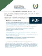 Hoja de trabajo 2 Estrategias de Comunicación Lingüística C.C. Velasquez Estrada