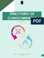 DIRECTORIO DE CONOCIMIENTOS CELAR LTDA.