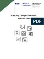 MR 01 Geral ALERTAS CODIGOS TECNICOS