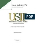 UNIVERSIDAD SIMÓN I PATIÑO INV. DIAGRAMA Pareto AVG