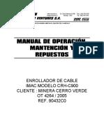 Manual - Enrollador de cable sobre camión