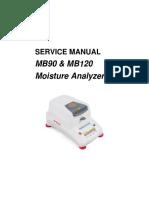 Service manual MB90 120 30284484C