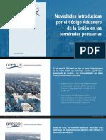Código Aduanero de la Unión (Terminales Portuarias)