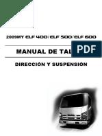 Direccion y Suspencion ELF400-500-600 ESPAÑOL
