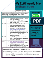 dwulit ican learning plan week of april 6th