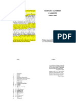 AGAMBEN, Giorgio - O Aberto - o Homem e o Animal (Edição Portuguesa)