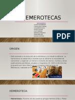 HEMEROTECAS