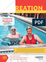 Longmont Recreation Summer 2020 Brochure