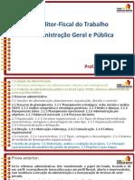 Slides Aula 1 Aft Administracao Geral e Publica Rafael Ravazolo