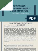 DERECHOS FUNDAMENTALES Y CONSTITUCIÓN