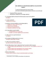 SOLUCIONES Subordinadas adjetivas con pronombre relativo