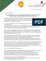 Verpflichtende deutsche Sprachtests für Einwanderer - Genehmigter Antrag der Union