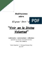 MEDITACIONES SOBRE LA DIVINA VOLUNTAD 01