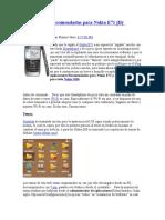 Aplicaciones Recomendadas para Nokia E71.docx