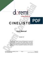 CineLister_UserManual_000009_v3.0