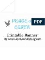 Peace on Earth-Free Banner