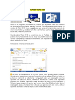 CLASES WORD 2020