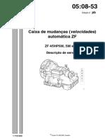 050853 CAIXA AUTOMATICA ZF DESCRIÇÃO DE SERVIÇO PGR