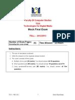 T325-Final Exam-Mock