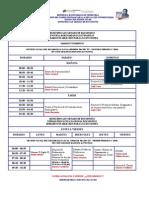Horario Secciones de Ubv Gest Soc 2010 II