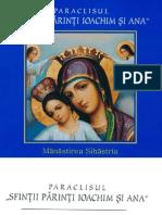 Albumul Paraclisului Manastirii Sihastria