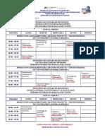 Horario Secciones de Produccion Agroalimentaria 2010 III