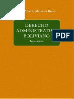 Libro Derecho Administrativo Boliviano 3ra Edicion 2018
