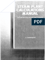 Mechanical - Engineering Steam Plant Calculations Manual