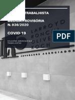 Boletim Informativo Trabalhista MP 936 - LRO ADV