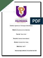 RESUMEN FUERZA CORTANTE MOMENTO FLECTOR
