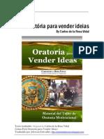 Oratória para vender ideias - Carlos de la Rosa Vidal - Como Falar em Publico (Português)