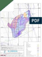 Plano Geológico de Litología y Estructuras Proyectadas al Tajo