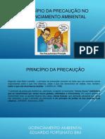 PRINCÍPIO DA PRECAUÇÃO NO LICENCIAMENTO AMBIENTAL - MINHA PARTE.pdf